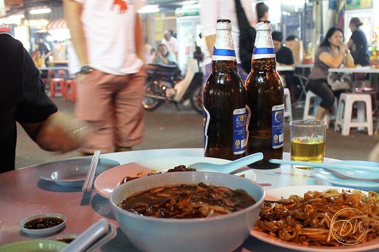 jalan alor KL street food