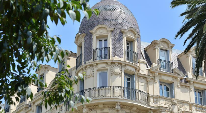 Hotel La Villa Nice Victor Hugo facade