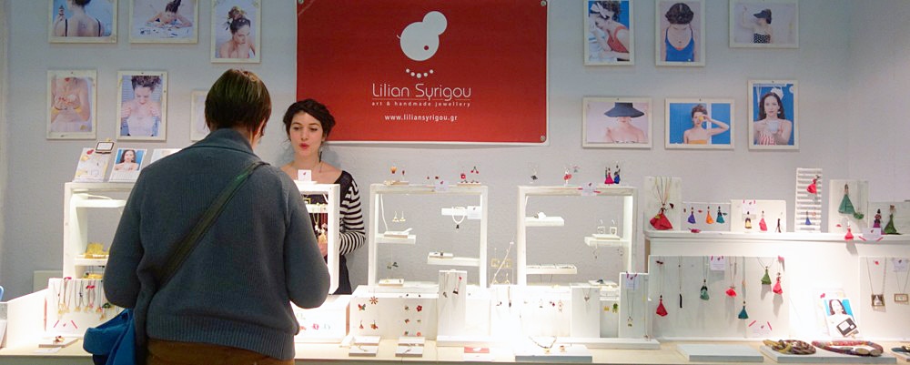 Lilian Syrigou Art and Handmade Jewelry