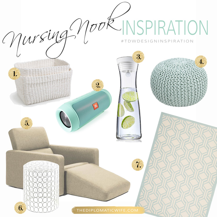 TDWdesigninspiration-Glam-Nursing-Station
