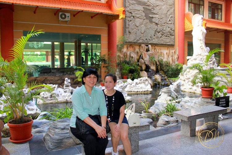 medan cemara asri buddhist centre -020