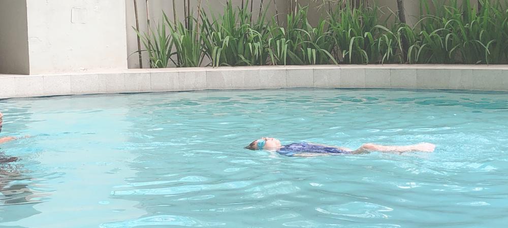 Great Swim Coach for Kids in Manila